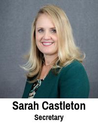 Sarah Castleton, Secretary